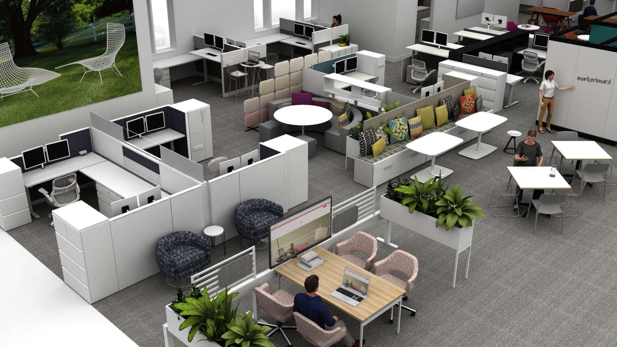 SKG showroom render